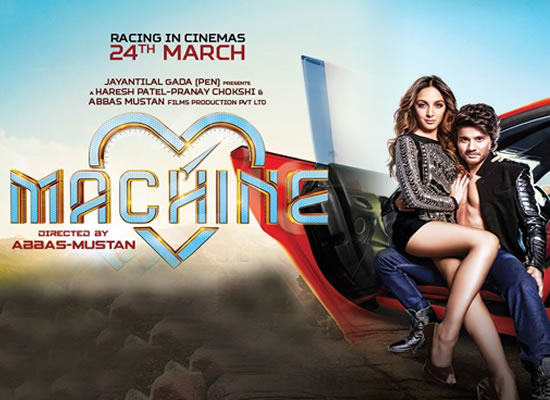 The music of film Machine is an average one with a few tuneful numbers!