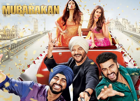 The soundtrack of Mubarakan is satisfying and enjoyable with Punjabi flavor.