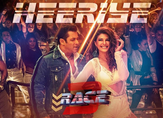 Heeriye song of film Race 3 at No. 1 from 22nd June to 28th June!
