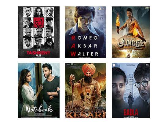 Latest Box Office for this week till 15th April, 2019!