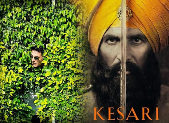 Akshay Kumar urges the fans to watch his film Kesari in a cute way!