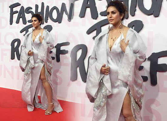 Huma Qureshi's bold and stylish avatar at Cannes 2018!
