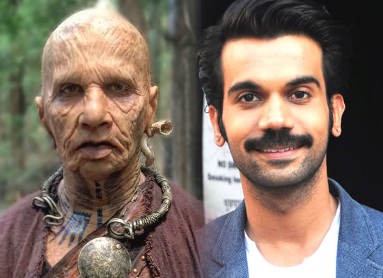 Rajkummar Rao's amazing transformation into a 324-year-old man for Raabta!