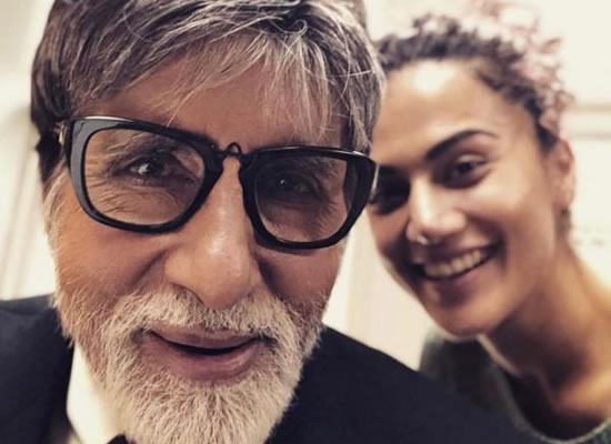 Amitabh Bachchan and Taapsee Pannu to start shoot of Badla in Glasgow!