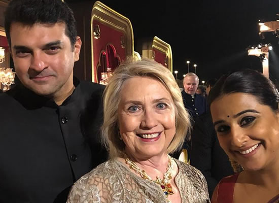 Vidya Balan to share a 'Precious pic' with Former US Secretary of State Hillary Clinton!