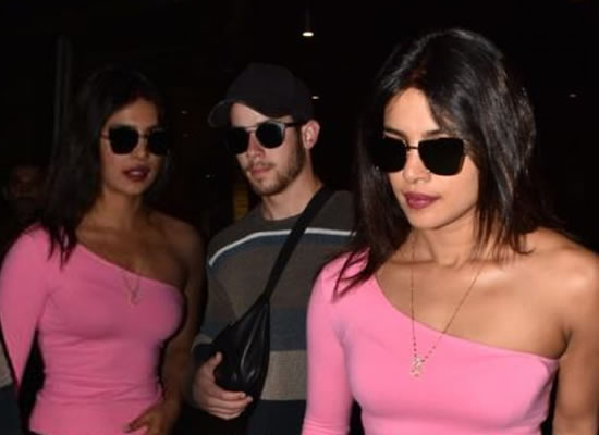Priyanka Chopra and Nick Jonas are back in Mumbai after a mini honeymoon!