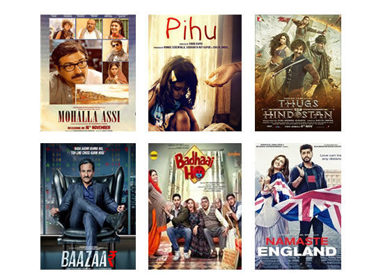 Latest Box Office for this week till 21st November, 2018!