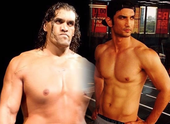 Sushant to star in wrestler The Great Khali's biopic?