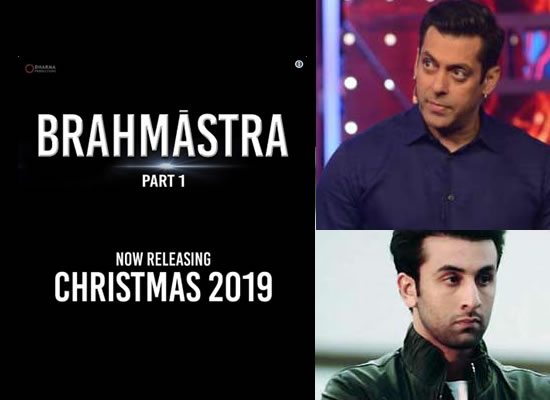 Ranbir-Alia starrer Brahmastra Part 1 to release on Christmas 2019!