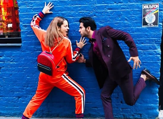 Kangana Ranaut and Rajkummar Rao's crazy moments in London!