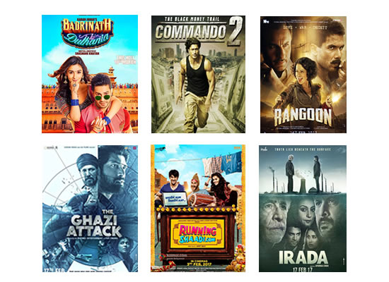 Latest Box Office for this week till 14th March, 2017