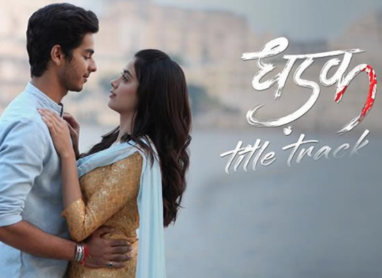 Dhadak song of film Dhadak at No. 3 from 2nd November to 8th November!