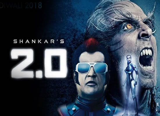 Rajinikanth and Akshay Kumar starrer 2.0 beats Aamir Khan's Dangal record!