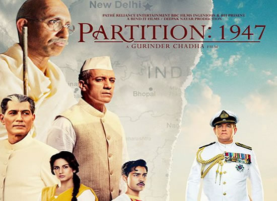 The music of Partition: 1947 is tuneful with a few good numbers.