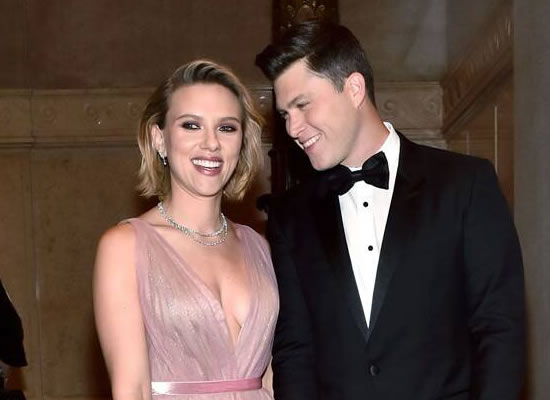 Hollywood stars Scarlett Johansson and Colin Jost are engaged!