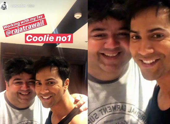 Varun Dhawan's favourite star Rajat Rawail joins the cast of Coolie No 1!