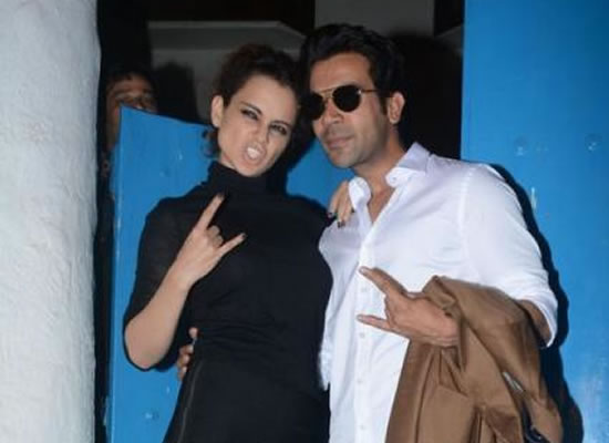 The biggest DIVA I have ever worked with is Kangana, says Rajkummar Rao!
