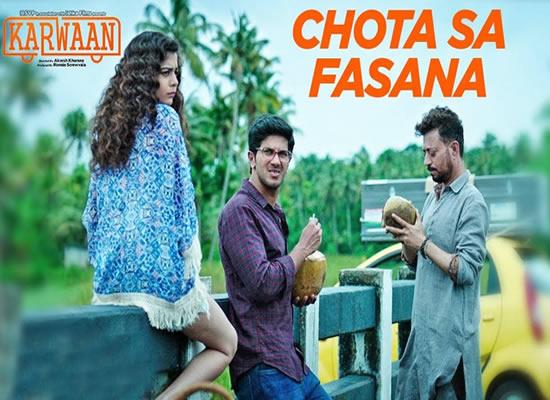 Chota Sa Fasana song of film Karwaan at No. 4 from 27th July to 2nd August!