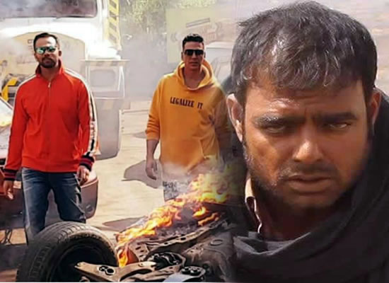 Akshay Kumar to guide Abhimanyu Singh while filming action sequences for Sooryavanshi!