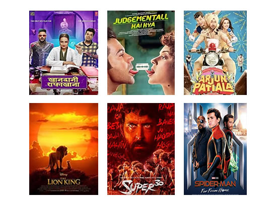 Latest Box Office for this week till 8th August, 2019!
