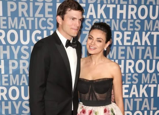 Mila Kunis and Ashton Kutcher make first red carpet appearance as a couple!