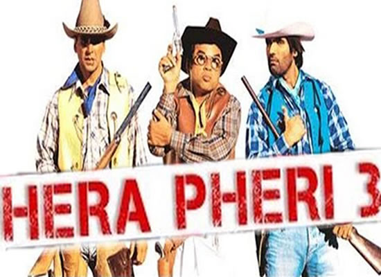 Akshay Kumar, Suniel Shetty and Paresh Rawal starrer Hera Pheri 3 to witness a time-leap!