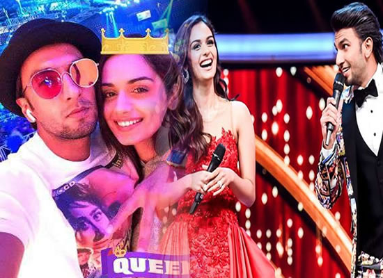 Great experience working with Ranveer Singh, says Manushi Chhillar!