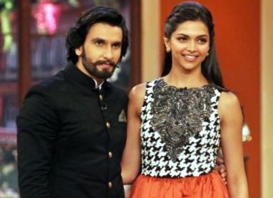 We are almost like the beauty and the beast in Padmavati, says Deepika Padukone on Ranveer!