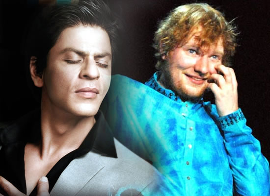 Film with SRK would be quite cool, says Ed Sheeran!