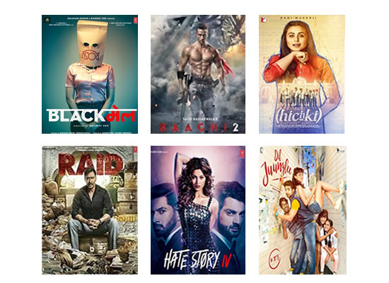 Latest Box Office for this week till 12th April, 2018