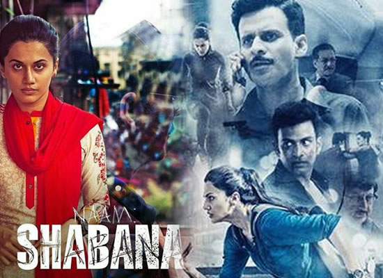 Film Naam Shabana passed by CBFC with a UA certificate and 3 cuts!