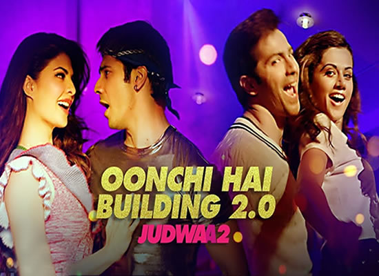 Oonchi Hai Building 2.0 song of film Judwaa 2 at No. 1 from 29th Sept to 5th Oct!