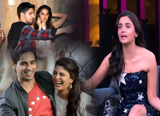 Sidharth Malhotra should date Kiara or Jacqueline, says Alia Bhatt!