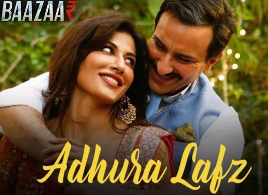 Adhura Lafz song of film Baazaar at No. 4 from 2nd November to 8th November!