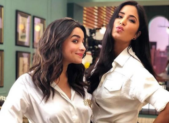 I will send Katrina a message to start liking my pictures on Instagram, says Alia Bhatt!