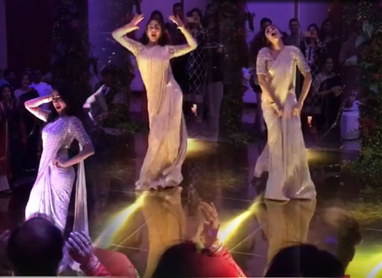 Sara Ali Khan dances her heart out at a wedding reception!