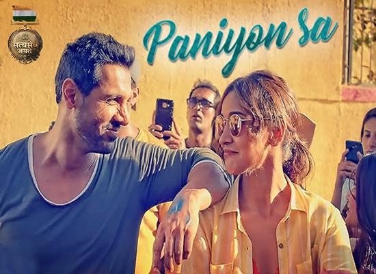 Paniyon Sa Song of film Satyameva Jayate at No. 3 from 27th July to 2nd August!