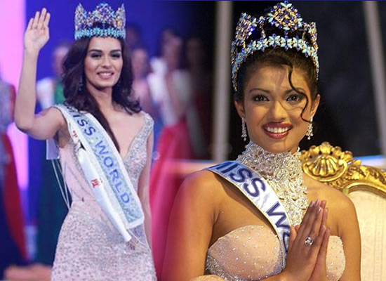 Cherish, learn and enjoy it, tweets Priyanka Chopra for Miss World 2017 Manushi Chhillar!