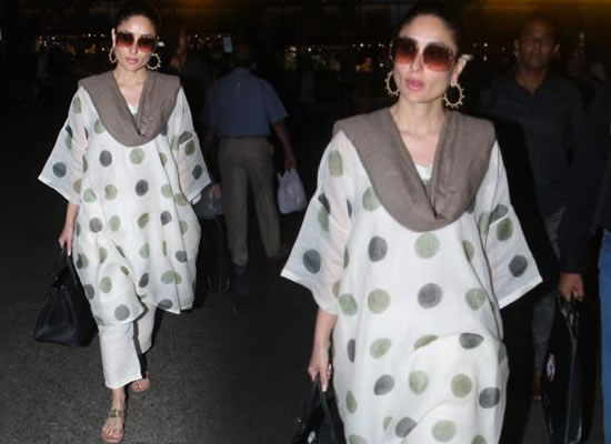 Kareena Kapoor Khan's chic avatar at airport!