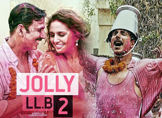 Jolly LLB 2's music is really enjoyable with songs likely to blend in well with the story.