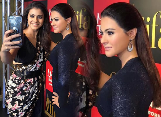 Kajol uncovers her wax statue at Madame Tussauds!