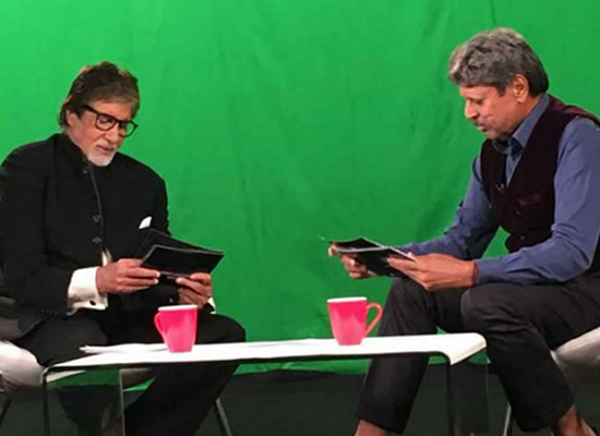 Kapil Dev to praise Big B for his passion towards profession!