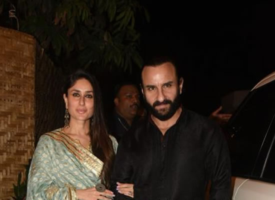 Saif Ali Khan and Kareena Kapoor Khan's royal presence at Prithvi Film Festival!