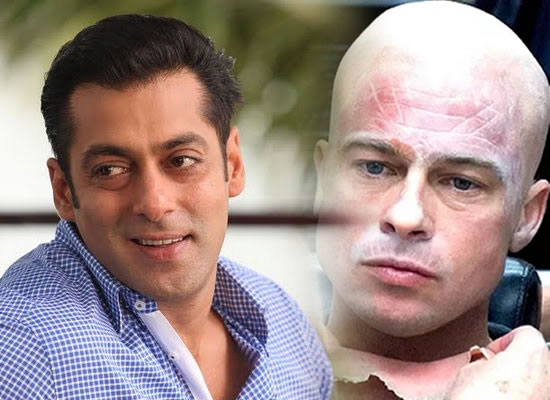 Salman Khan goes the Brad Pitt way for Bharat?