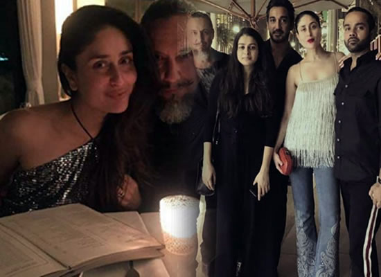 Kareena Kapoor Khan's dinner outing with friends in Dubai!