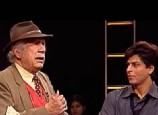 SRK's sweetest message for the man behind his debut serial 'Fauji' on his demise!