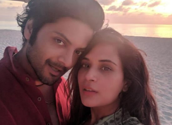 Ali Fazal's mini vacation with girlfriend Richa Chadha in Maldives!