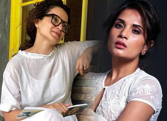 Richa Chadha opens up about working with Kangana Ranaut in Panga!