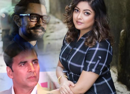 Tanushree is happy for Akshay and Aamir's supporting stand on Me Too Movement!
