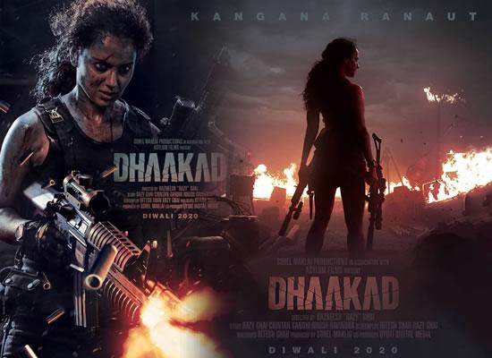 Kangana Ranaut's fierce avatar in her next action thriller Dhaakad!
